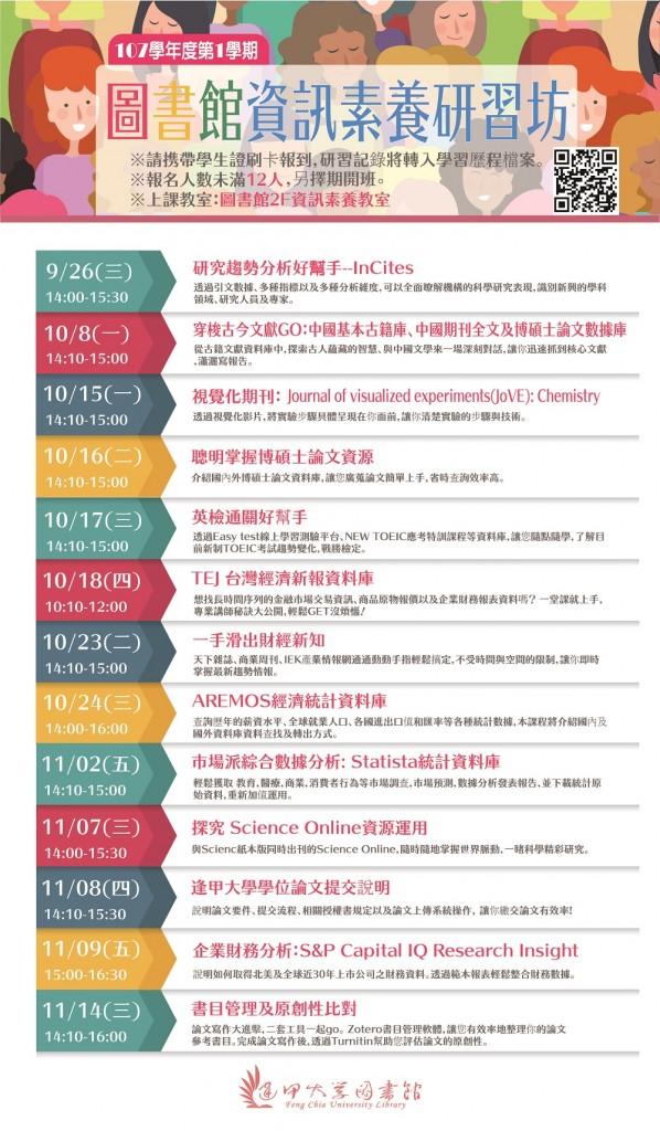 107資訊素養研習海報_電子看板-01